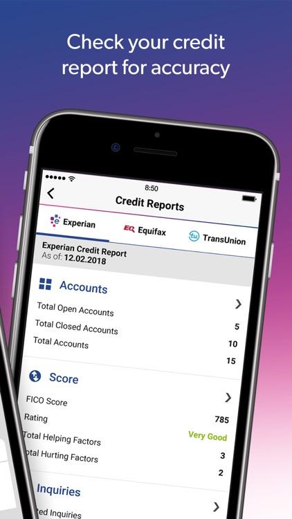 Experian Credit Report & Score screenshot-4