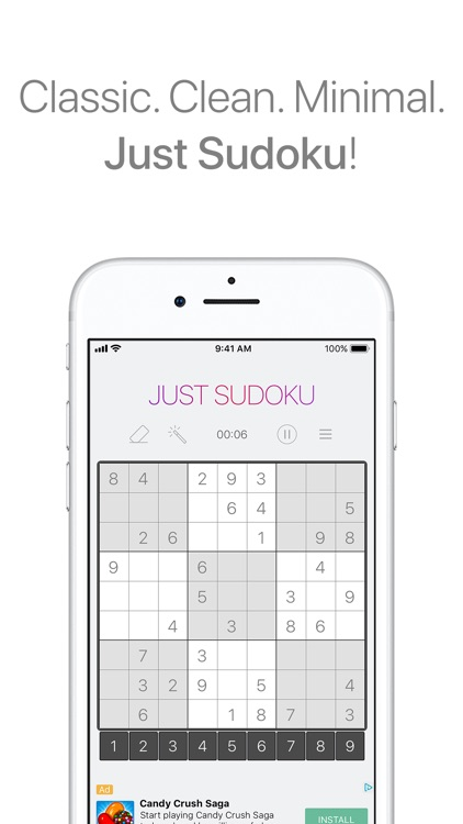 Sudoku: Puzzle Logic Game screenshot-0