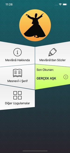 Hz Mevlana Mesnevi I şerif On The App Store