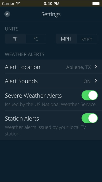 KTXS Weather screenshot-4