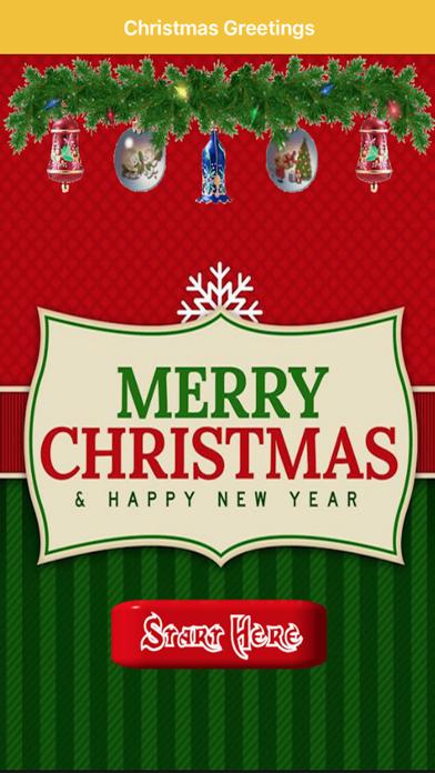 Christmas Greetings SMS screenshot 2