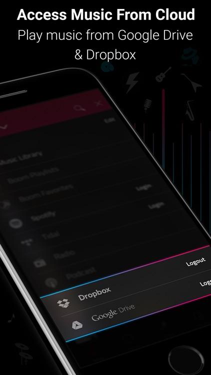 Boom: Music Player & Equalizer screenshot-3
