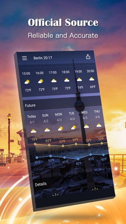 Weather Expert Pro - Live Climate Forecast Radar screenshot-1