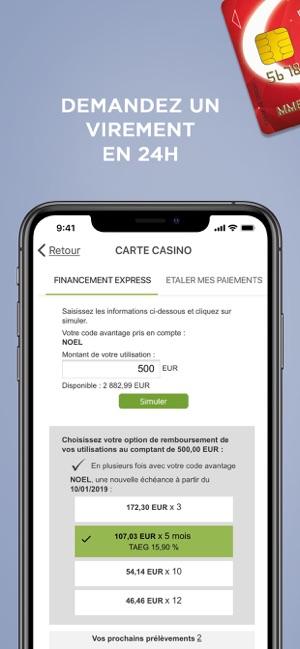 banque casino application pc
