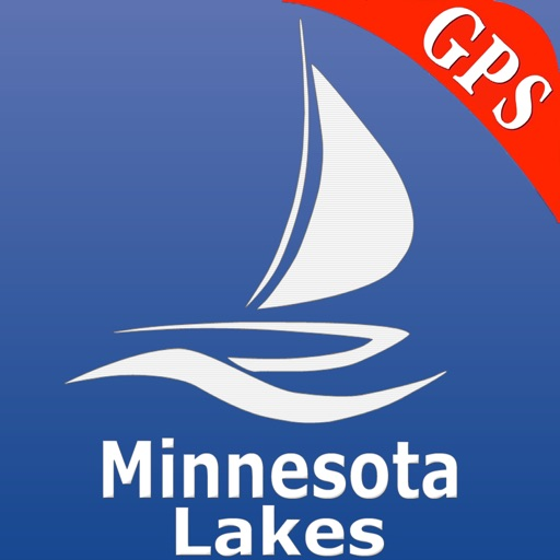 Minnesota Lakes Nautical Chart iOS App