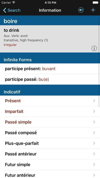 French Verbs & Conjugation