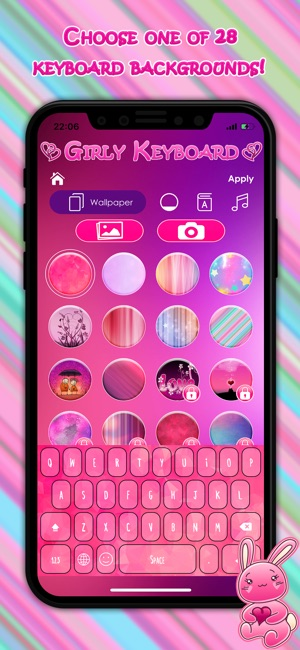 Cute Girly Keyboard Themes on the App Store