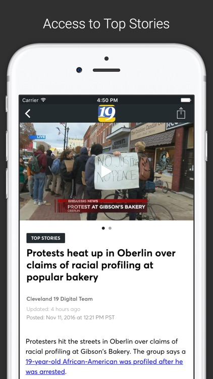 WOIO Cleveland19 News screenshot-1