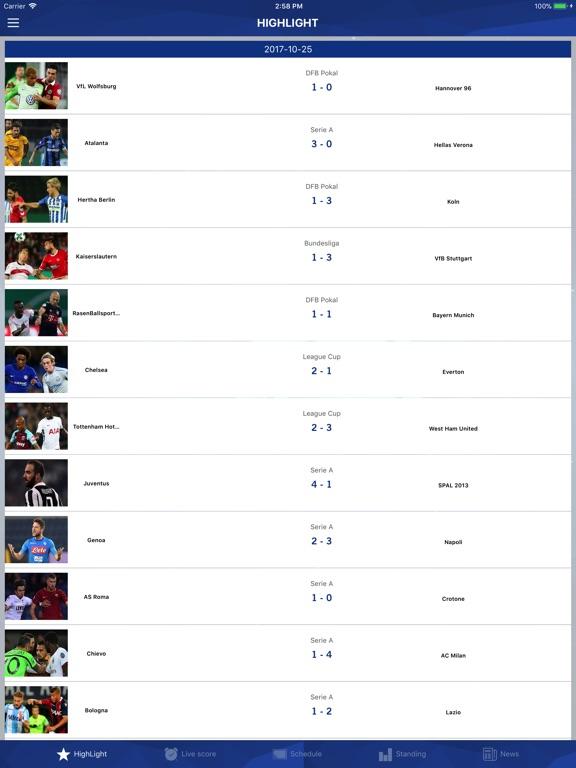 Screenshot #3 for Football TV - Football Scores