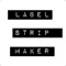 Label Strip Maker - Stickers for iMessage
