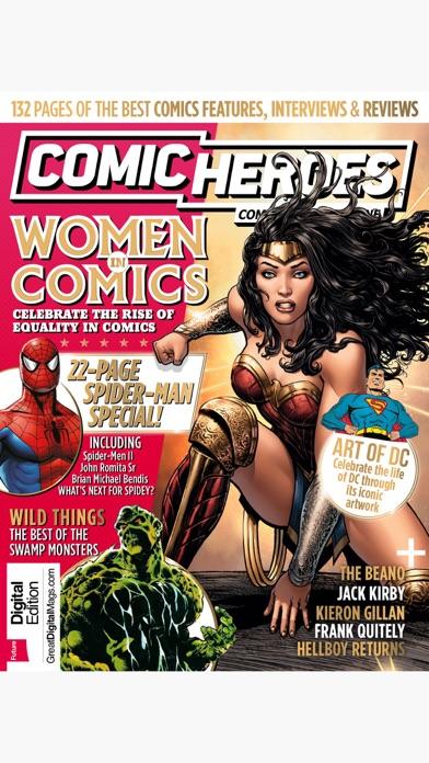 Screenshot for Comic Heroes: the superhero comics magazine in United Arab Emirates App Store