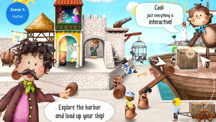 Tiny Pirates: Toddler's App screenshot-1