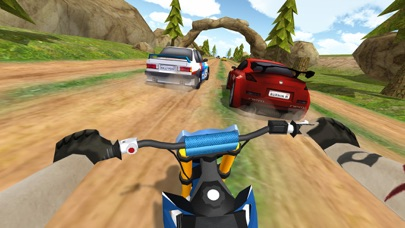 泥 ラリーオートバイ: ダートバイク レーシングのおすすめ画像1