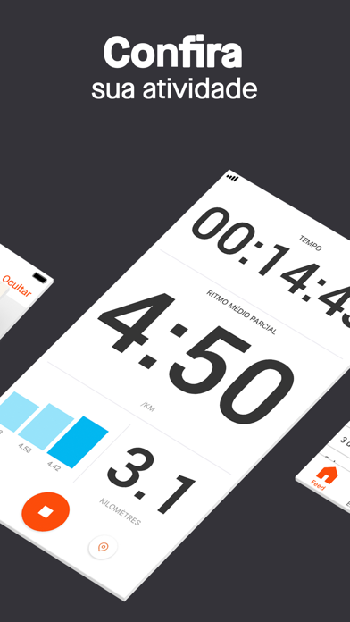 Screenshot for Strava - Correr e pedalar in Brazil App Store