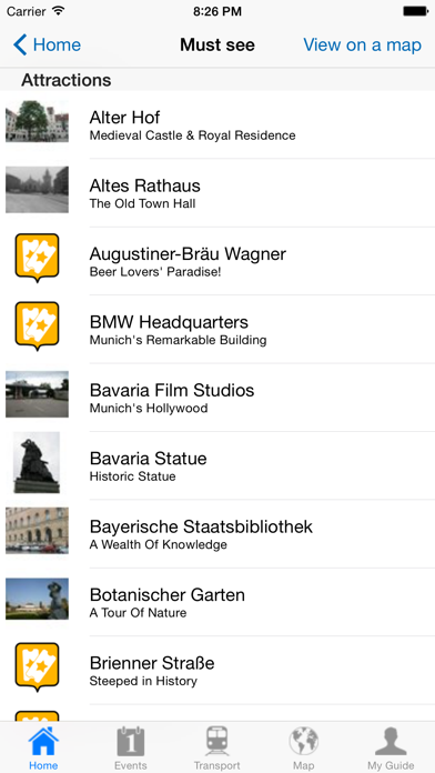 Munich Travel Guide Offline review screenshots
