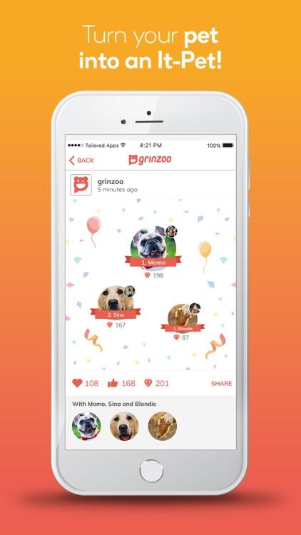 grinzoo - my social pet app screenshot-3