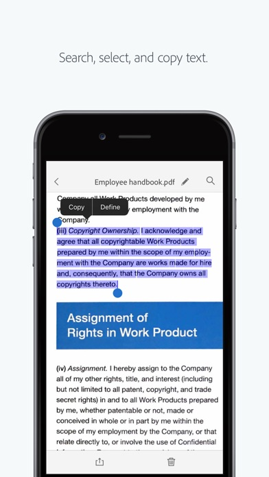 Adobe Scan: PDF Scanner, Documents, Receipts Screenshot 5