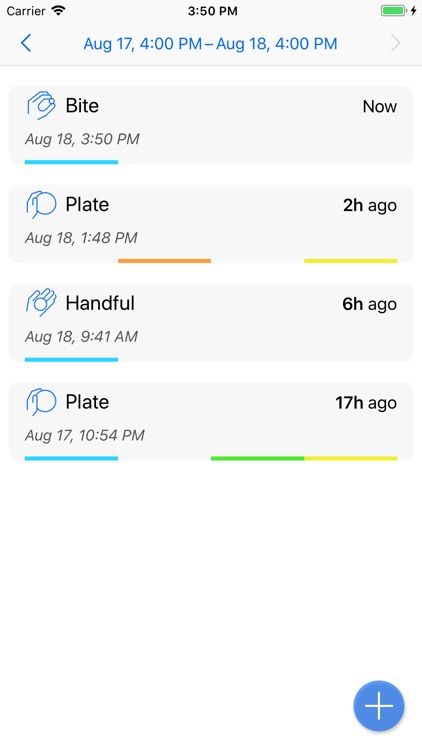 Not So Fast food tracker