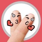 Анимированные наклейки Finger icon