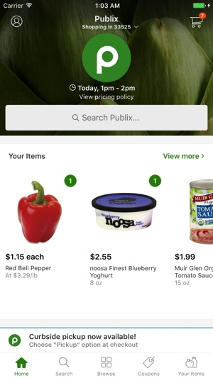 publix delivery on the app store