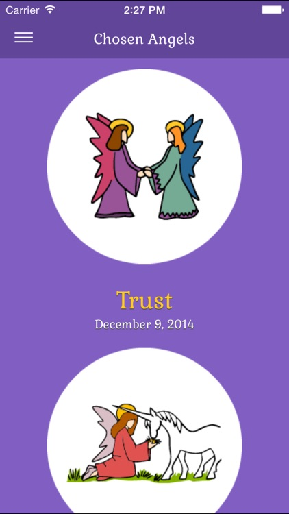 Original Angel® Cards App screenshot-3