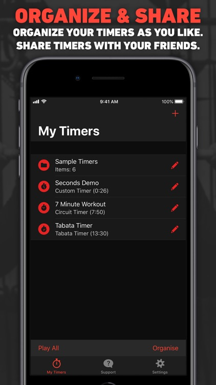 Seconds Interval Timer HIIT screenshot-5