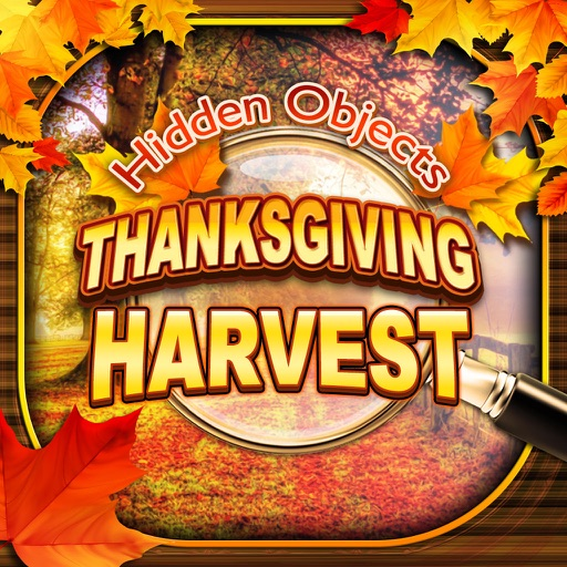 Hidden Objects Thanksgiving Fall Harvest Puzzle