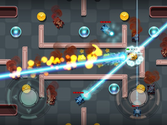 Tanks Fire Up:pocket wars hero-ipad-2