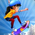 Snowboard Patinaje Ski Jump 3D icon