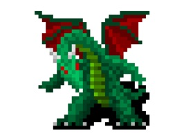 This 8-Bit RPG sticker pack is for those of you who like old school RPG games with dragons, potions, swords and magic, and pixels, lots of them