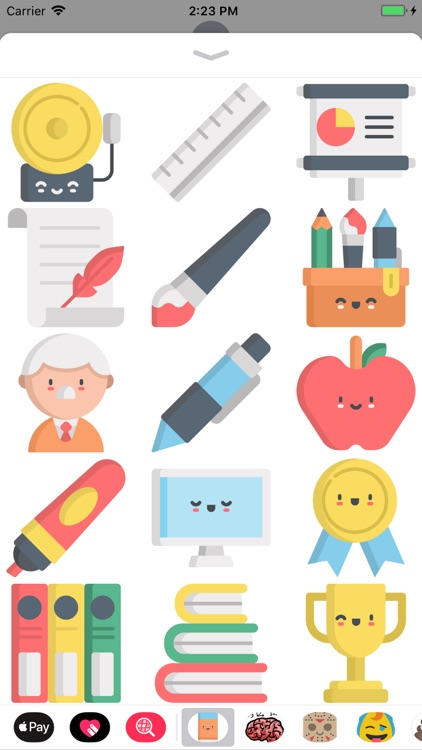 Cute Back To School Stickers screenshot-1