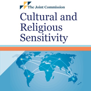 "the top half says ""Cultural and Religious Sensitivity"" and the bottom half shows a blue world map"