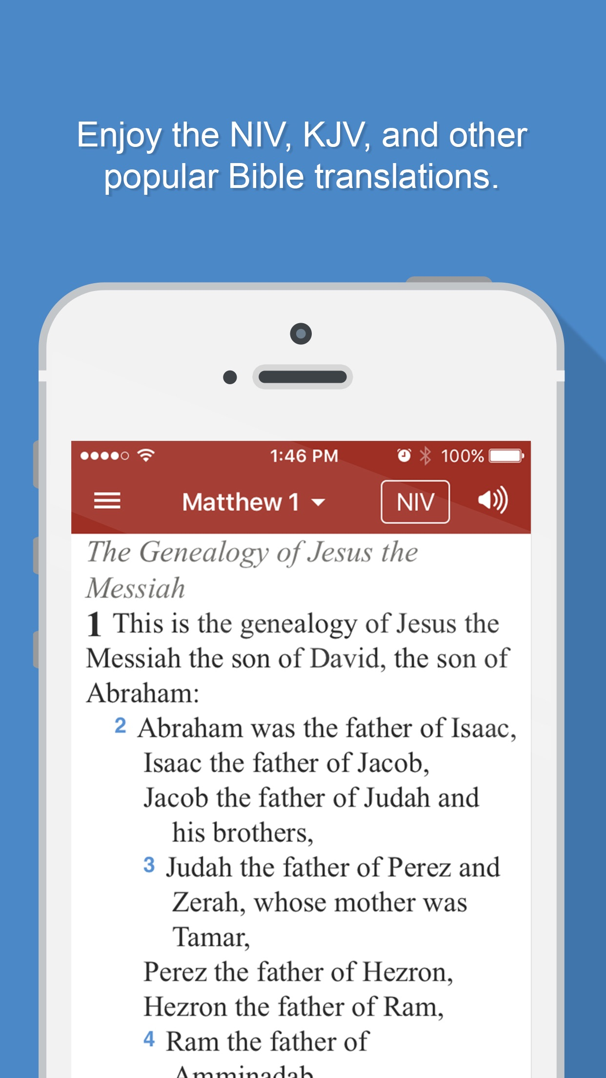 Bible Gateway Screenshot