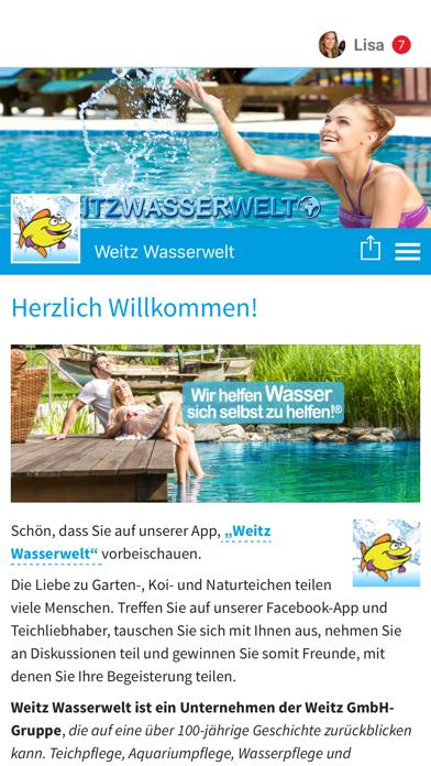 Weitz Wasserwelt screenshot 1