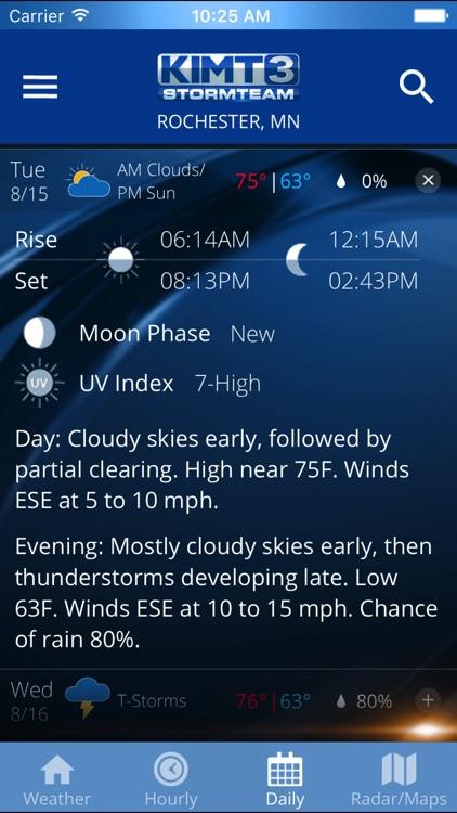 KIMT Weather - Radar & Forecasts screenshot-4