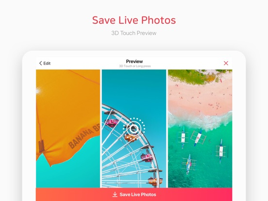 intoLive Pro - Press and hold Screenshots