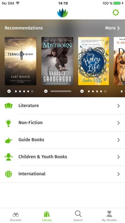 Skoobe - The ebook library