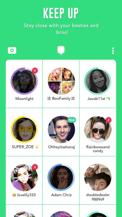 BOO! - Video chat camera with filters & stickers screenshot-3