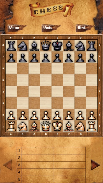 Chess – Play in Blind Mode