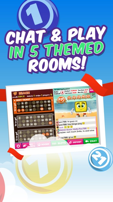 Bingo by PocketWin screenshot three