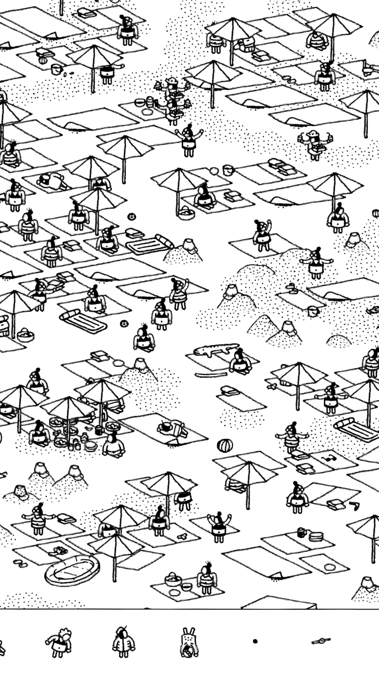 Screenshot do app Hidden Folks