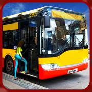 城市公交司机: 快速开车去接乘客