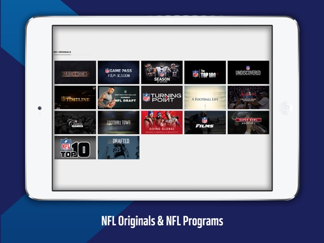 c4713854789  NFL Game Pass Europe on the App Store