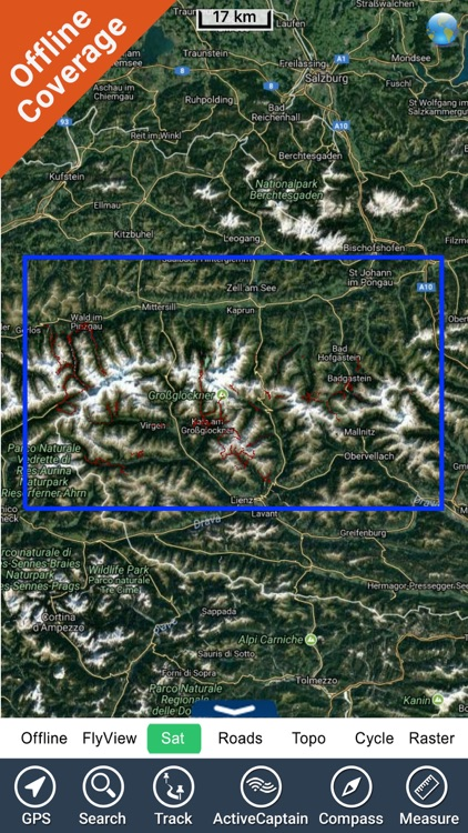 Hohe Tauern National Park - GPS Map Navigator screenshot-4
