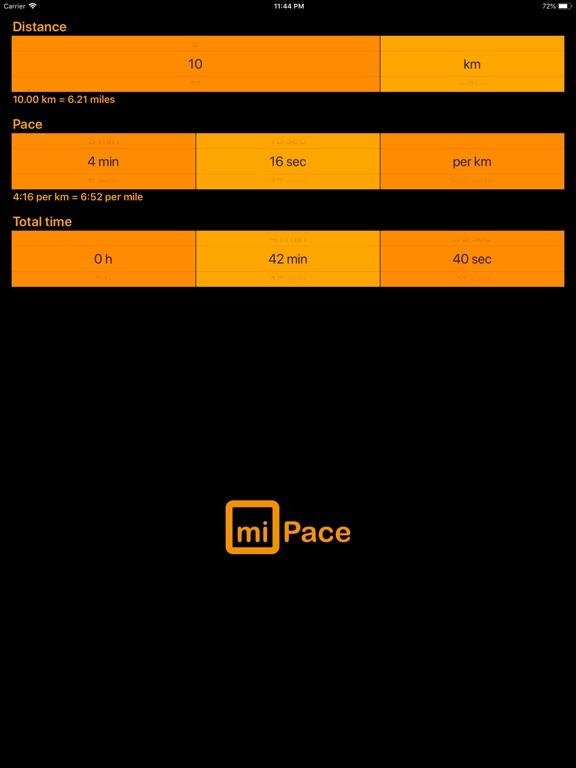 Screenshots for miPace