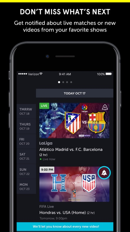 go90 – Stream TV & Live Sports screenshot-4