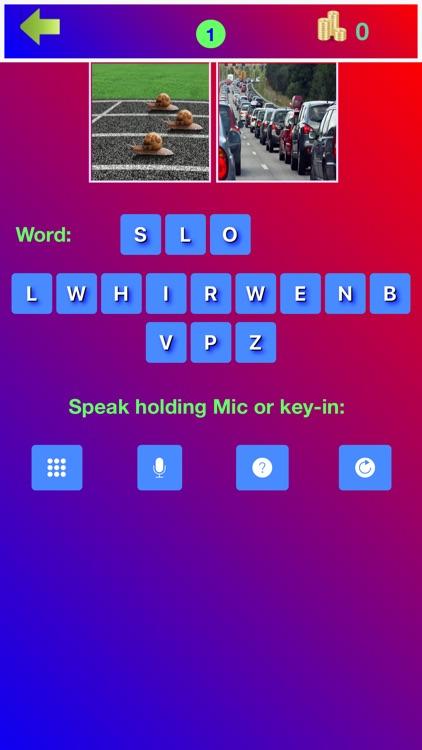 2 Pics 1 Association Word Game