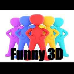 Funny 3D Man Stickers