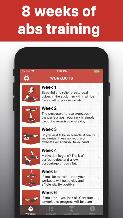 Sit Ups - 6 pack abs trainingsのおすすめ画像1