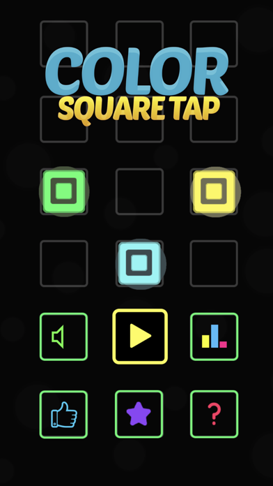 Color Square Tap! Screenshot on iOS